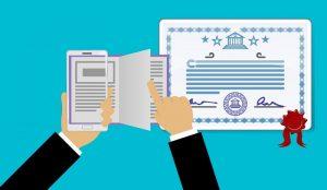 Demandez une licence et une certification